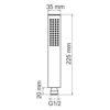 Лейка 1-функциональная WasserKRAFT A103 24579