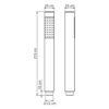 Лейка 1-функциональная WasserKRAFT A106 24517