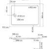 Душевой поддон квадрат WasserKRAFT Amper 29T07 25252