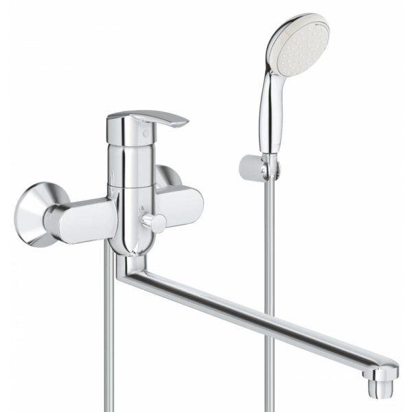 Смеситель для ванны GROHE Multiform с душевым гарнитуром New Tempesta II 3270800A