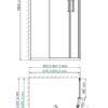 Душевой уголок WasserKRAFT Lippe 45S 25299