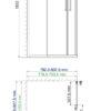 Душевой уголок WasserKRAFT Lippe 45S02 25307