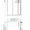 Душевой уголок WasserKRAFT Lippe 45S03 25311