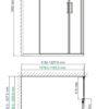 Душевой уголок WasserKRAFT Lippe 45S 25315