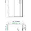 Душевой уголок WasserKRAFT Lippe 45S24 25303
