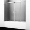 Стеклянная шторка на ванну WasserKRAFT Lippe 45S02-170