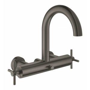 Смеситель для ванны GROHE Atrio New темный графит матовый 25010AL3
