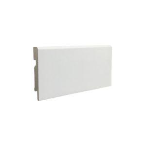 Плинтус МДФ ламинированный 80 F3 белый
